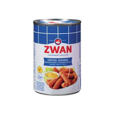 Saucisses cocktail ZWAN Poulet 400 g halal