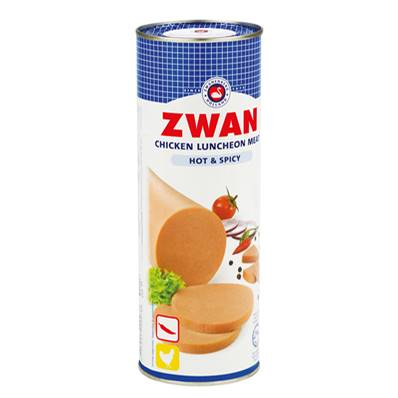 Luncheon meat ZWAN Poulet Spicy 850 g - DDM 13/06/21