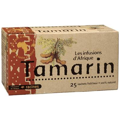 Infusion d'Afrique RACINES Tamarin 25 sachets x 1.6 g