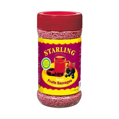 Boisson instantanée STARLING Fruits sauvages 400 g