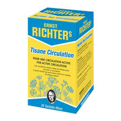 Tisane RICHTER Circulation 20 sachets