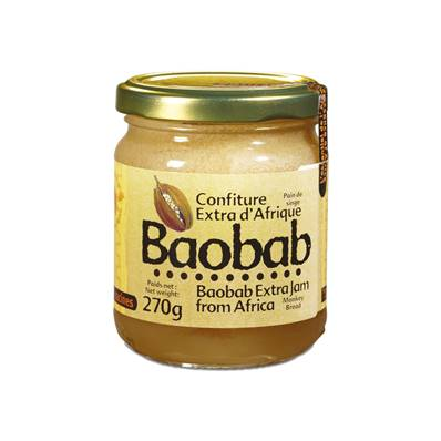 Confiture extra RACINES Baobab 270 g